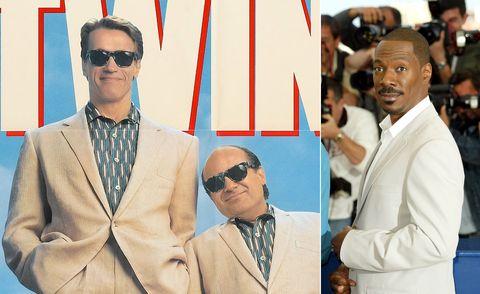 Arnold Schwarzenegger, Danny De Vito, Eddie Murphy, Twins