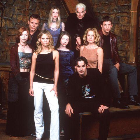 buffy the vampire slayer cast of 2000