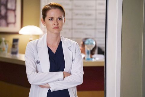 Who is april dating on greys anatomy