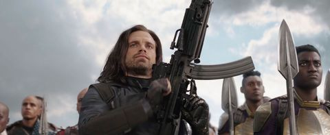 Avengers: Infinity War action figure features Bucky Barnes