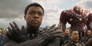 Black Panther, Chadwick Boseman, The Hulk, Captain America, Avengers Infinity War trailer