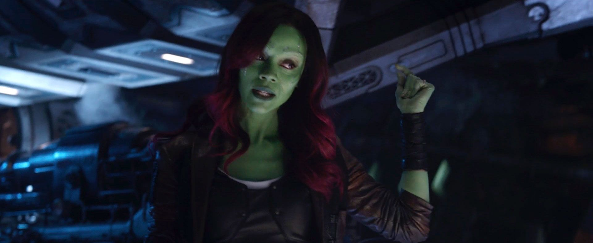 Avengers Infinity War deleted scene with Thanos and Gamora