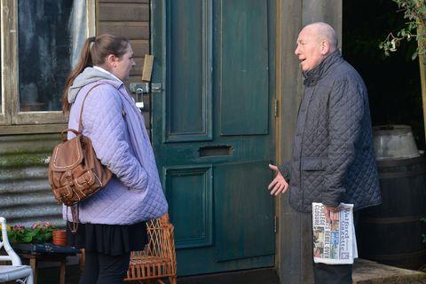 Bernadette Taylor lets Ted Murray down in EastEnders