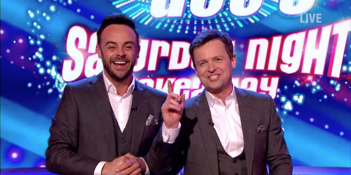 Ant & Dec's Saturday Night Takeaway announces first guests for 2020 series