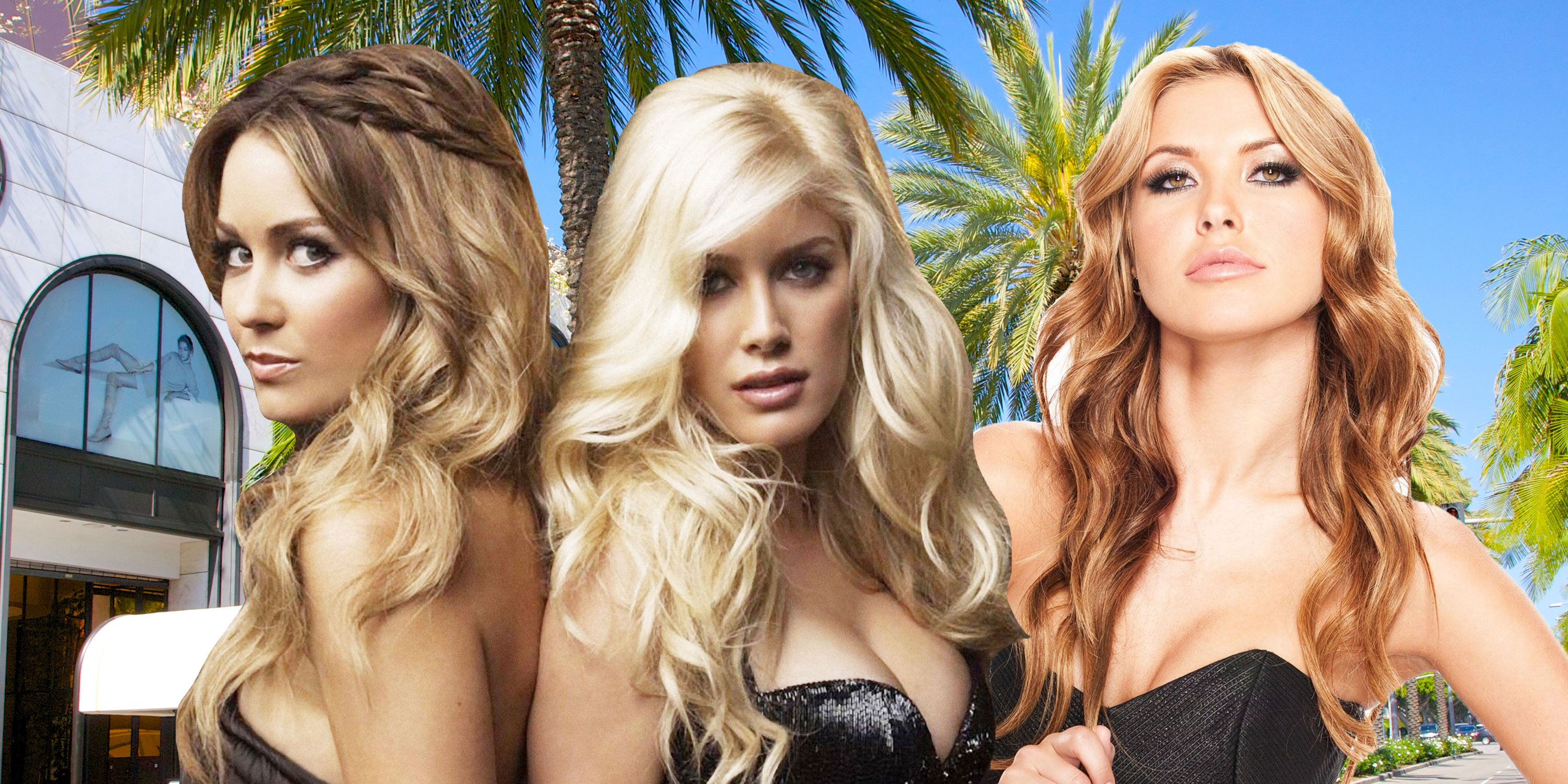 PHOTOSHOP, The Hills, Lauren Conrad, Heidi Montag, Audrina Patridge