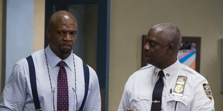Brooklyn Nine-Nine: Terry and Holt