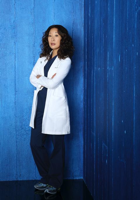 Abcs Greys Anatomy Stars Sandra Oh As Dr