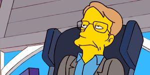 Stephen Hawking, The Simpsons