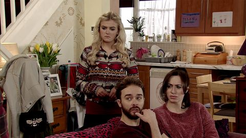 Craig Tinker has bad news for Bethany and the Platts in Coronation Street