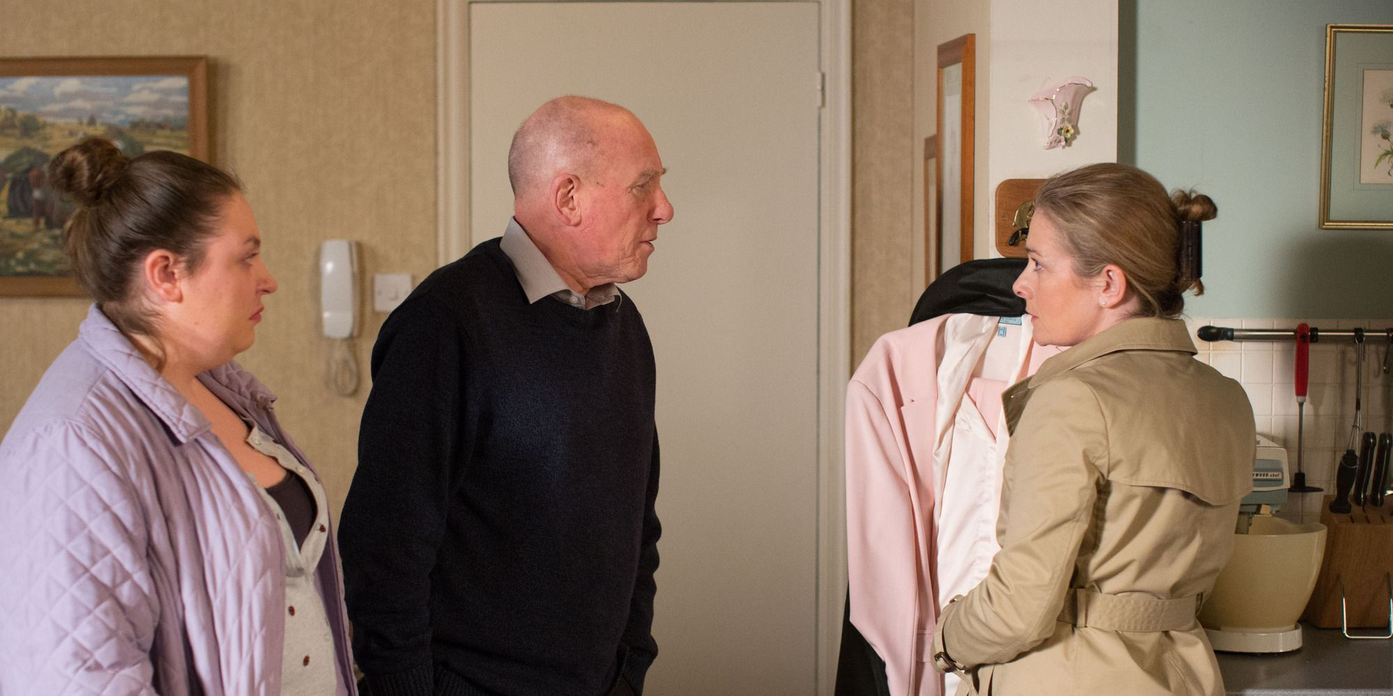 Bernadette Taylor sees Ted and Judith Murray continue to clash in EastEnders