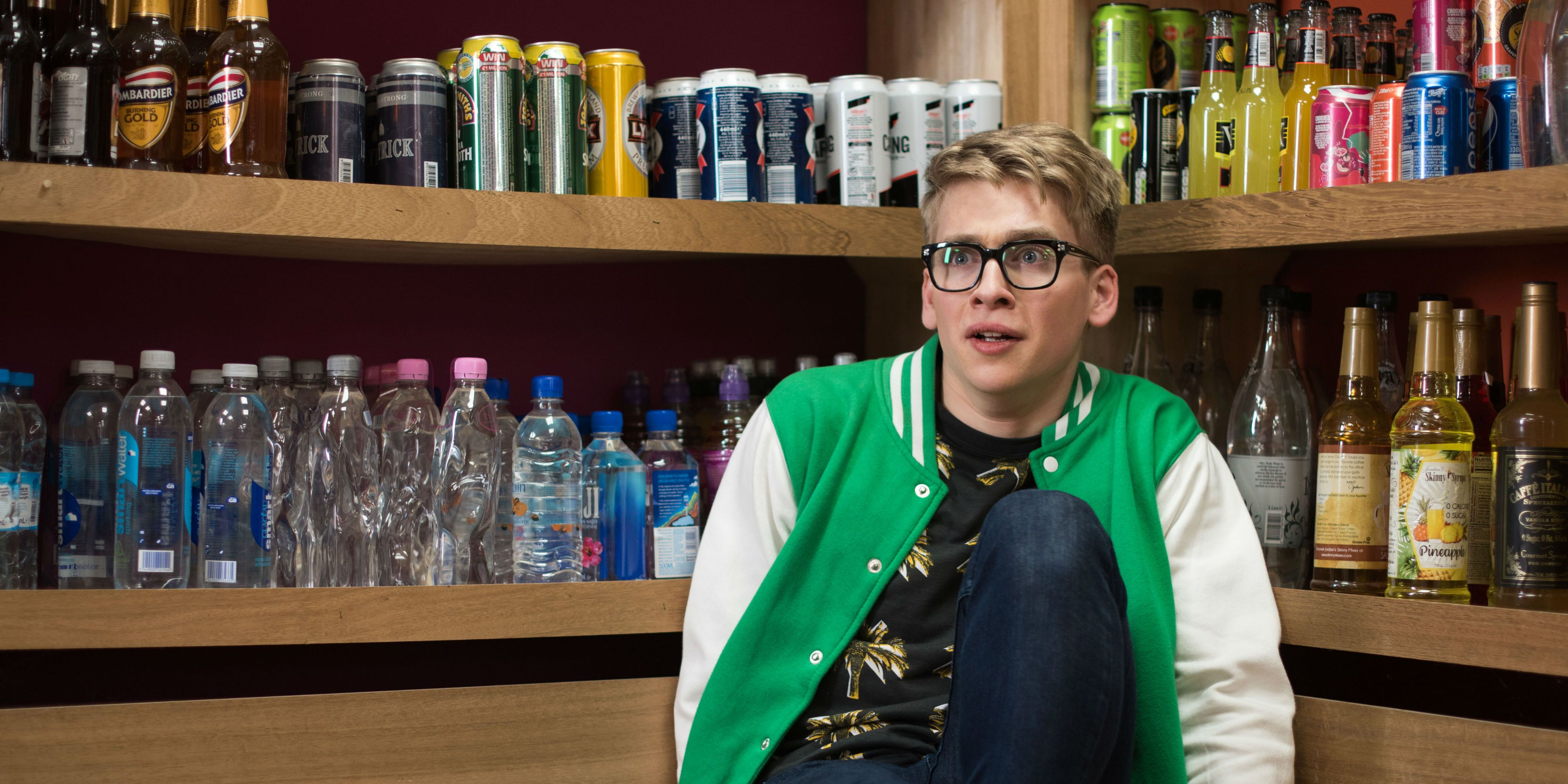 Alfie Nightingale is plagued by a voice in Hollyoaks