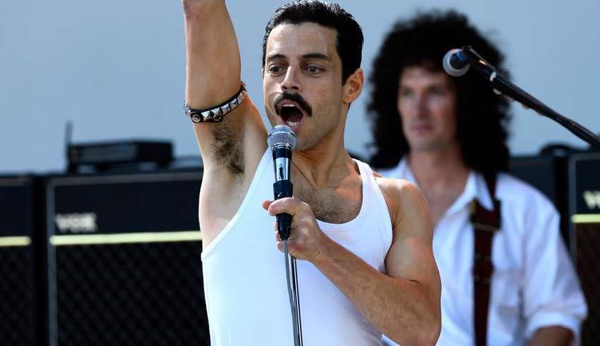 Freddie Mercury in Bohemian Rhapsody (2018) gave the role his all.