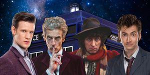 Matt Smith, Peter Capaldi, Tom Baker, David Tennant, Doctor Who