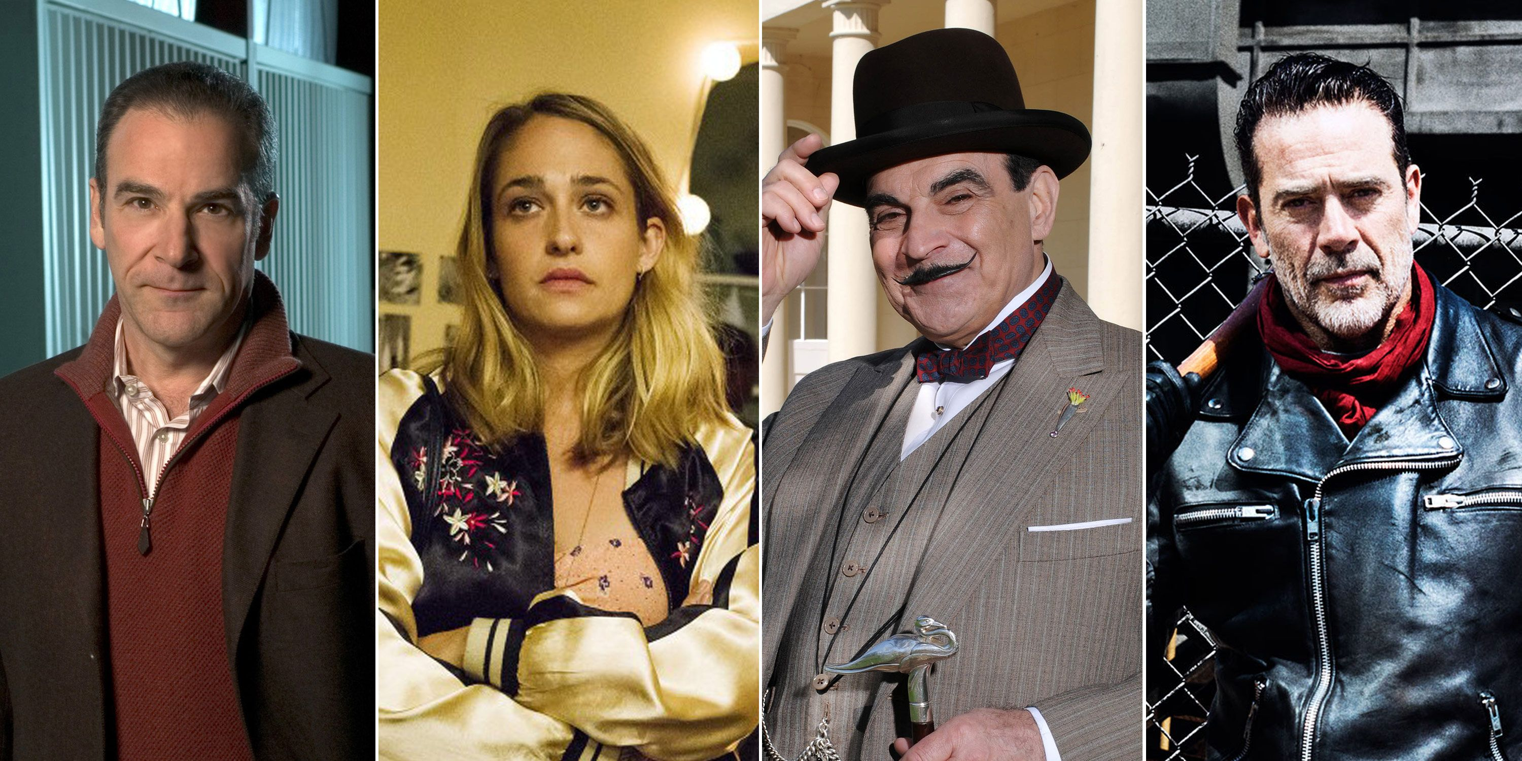 Jeffrey Dean Morgan, Jemima Kirke, Mandy Patinkin, David Suchet, Nearly Quit TV Shows