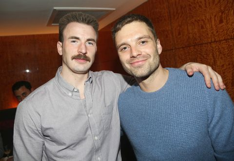 Here's why Captain America's Chris Evans has grown that moustache