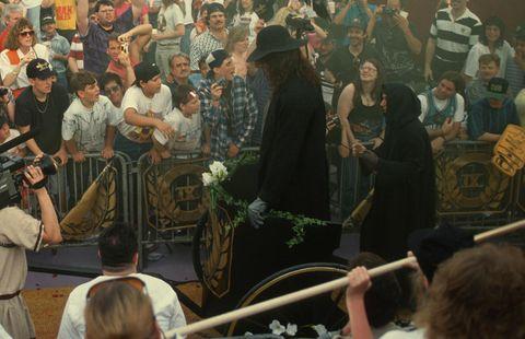 WrestleMania IX: The Undertaker vs. Giant González The Undertaker wins by DQ after González chloroforms him  3-0