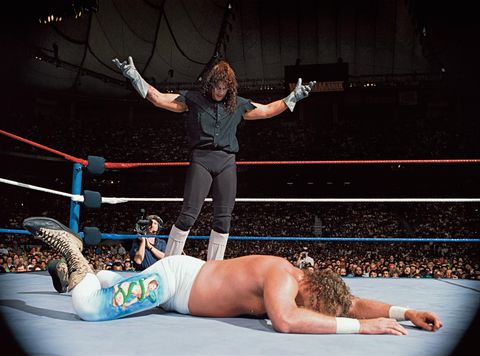 WrestleMania VIII: The Undertaker vs Jake 'The Snake' Roberts  The Undertaker wins by pinfall after a Tombstone Piledriver  2-0