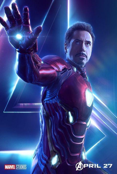 Avengers: Infinity War character poster: Iron Man