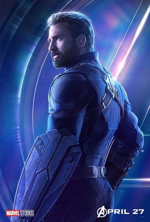 Avengers: Infinity War character poster: Captain America