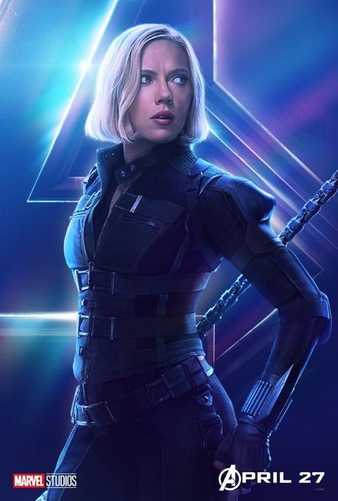 Avengers Infinity War S 22 Character Posters
