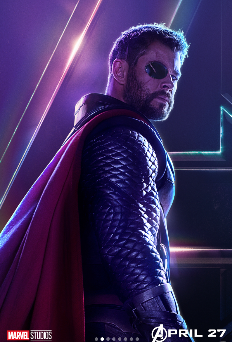 thor originally looked very different in avengers: infinity war