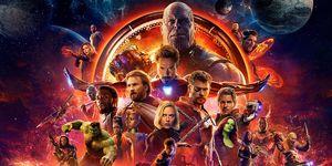Avengers: Infinity War poster full cast