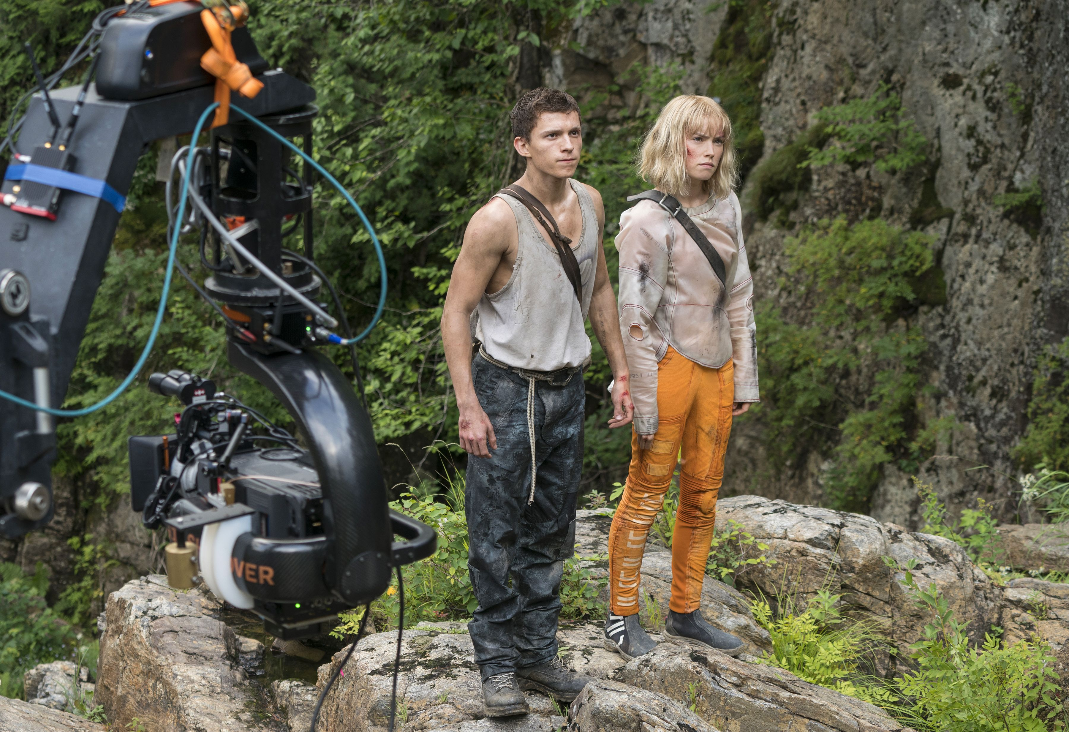 "What the hell is happening with Tom Holland's ""unreleasable"" Chaos Walking?"