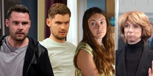 Aaron Dingle, Ste Hay, Stacey Fowler, Gail Platt, Suffered soaps