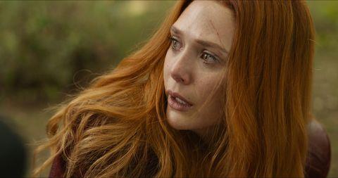Elizabeth Olsen, Scarlet Witch, Avengers: Infinity War