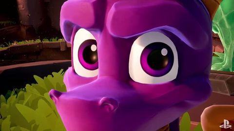 Remastered Spyro trilogy for PlayStation 4