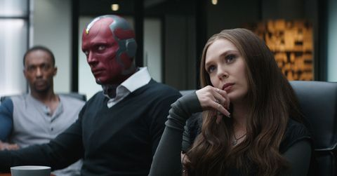 Avengers Infinity War – What is Vision and Scarlet Witch's