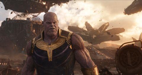 Josh Brolin, Thanos, Avengers: Infinity War