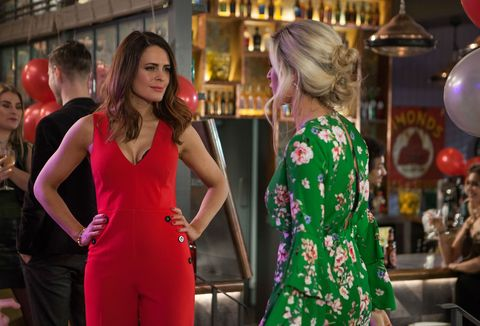 Scarlett Morgan makes her presence felt at Luke's birthday in Hollyoaks