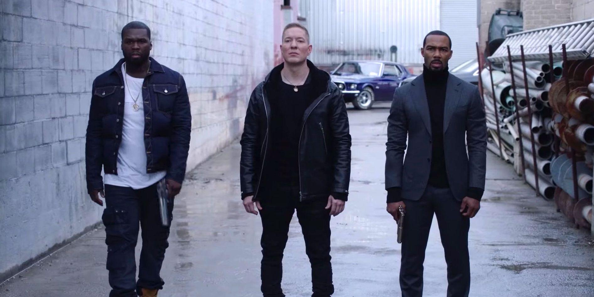 Power, Season 5, Kanan (50 Cent), Tommy (Joseph Sikora), Ghost (Omari Hardwick)