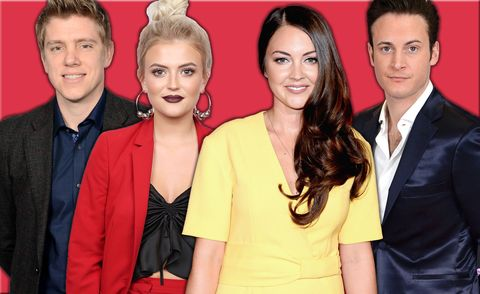 PHOTOSHOP, Soap Awards nominations, Ryan Hawley, Lucy Fallon, Lacey Turner, Gary Lucy