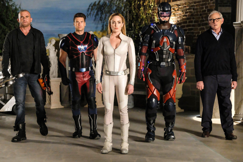DC's Legends of Tomorrow season 4 release date, cast, plot