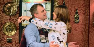 Steve McDonald assures Tracy Barlow he has no feelings for Michelle Connor in Coronation Street