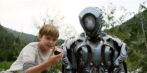 Will and the Robot in Lost In Space