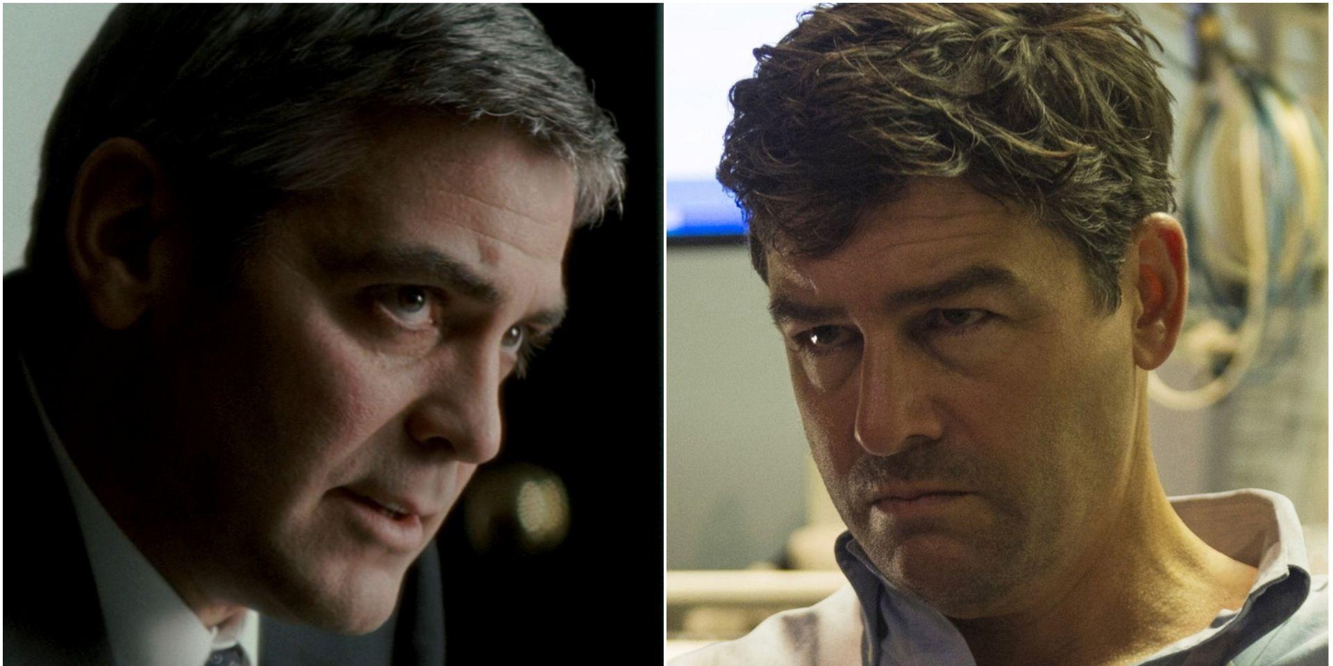 Geoge Clooney and Kyle Chandler