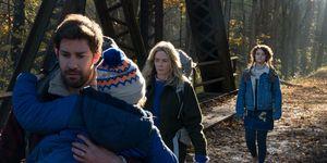 John Krasinski, Emily Blunt, Millicent Simmonds, Noah Jupe, A Quiet Place