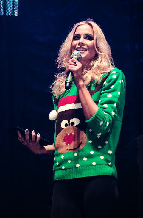 kate lawler hosts xmas party live 2013