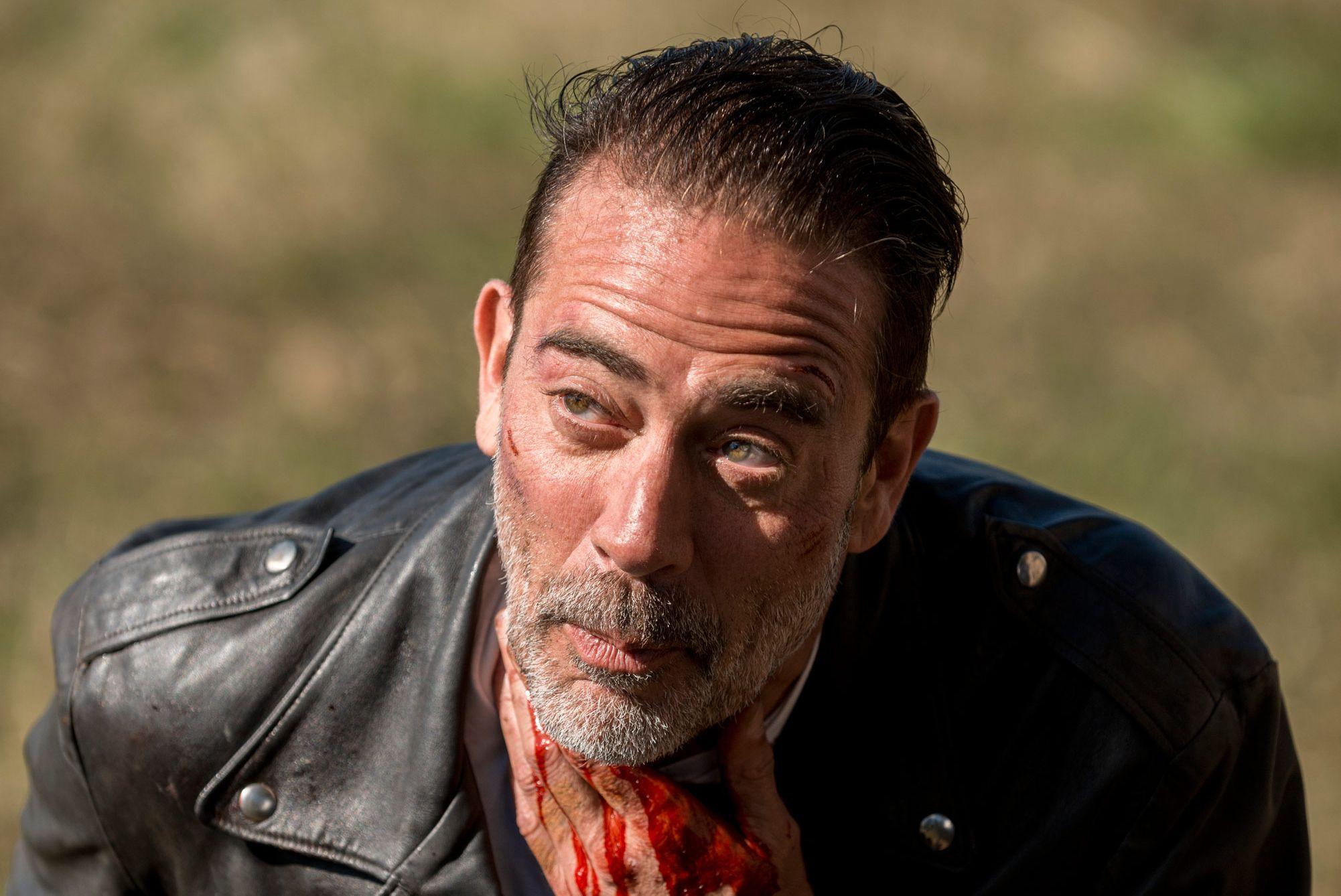 Jeffrey Dean Morgan, Negan, The Walking Dead, Season 8, Episode 16, Finale