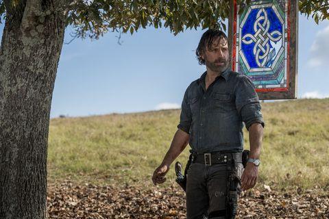 Andrew Lincoln, Rick Grimes, The Walking Dead, Season 8, Episode 16, Finale