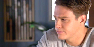 Colby Thorne shares his secret with Jasmine Delaney in Home and Away