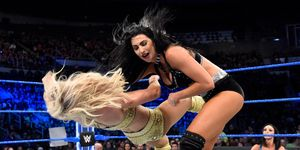 Charlotte Flair and Billie Kay on WWE SmackDown