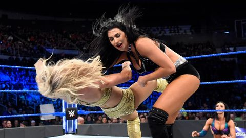 Charlotte Flair and Billie Kay on WWE SmackDown