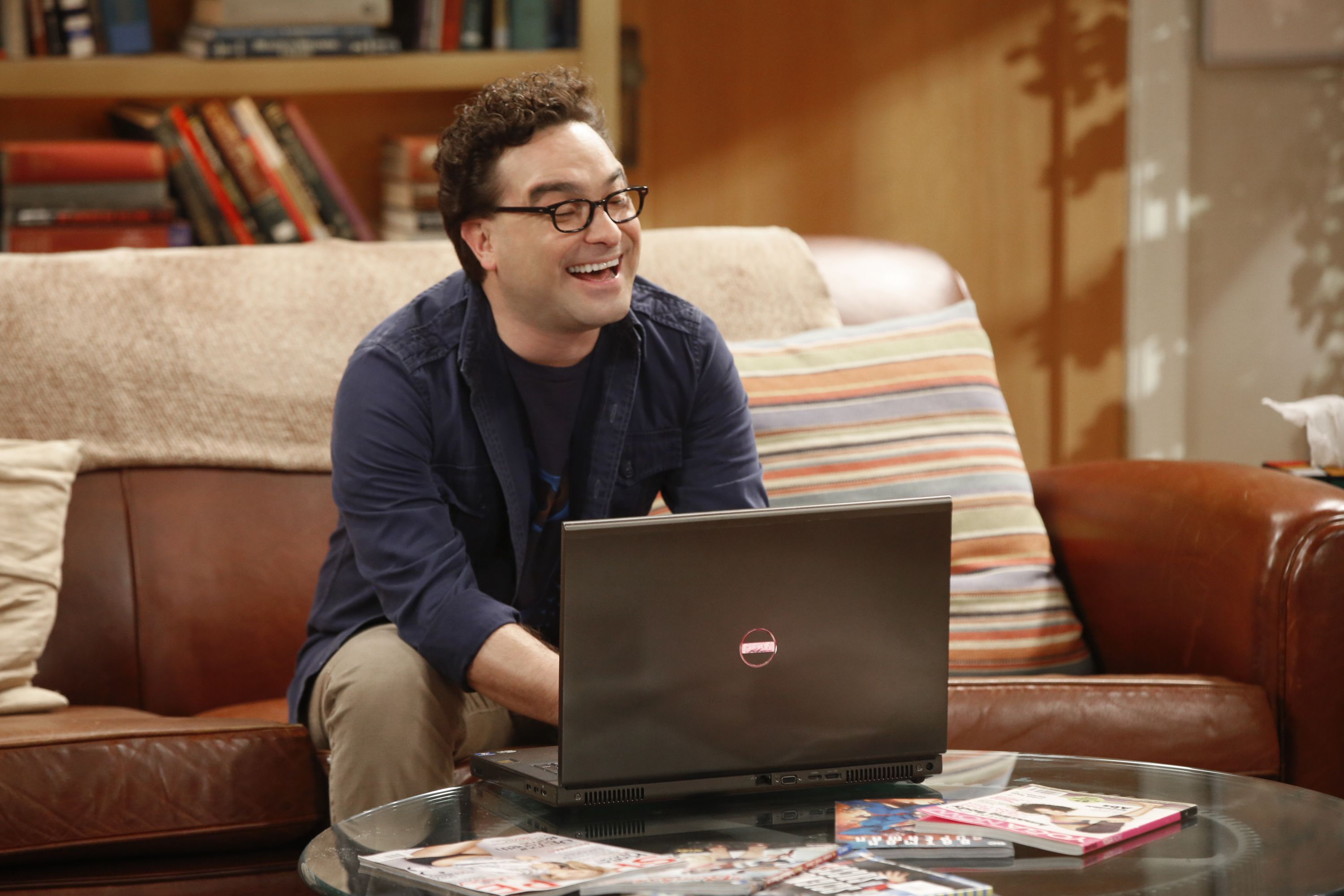 Big Bang Theory's Johnny Galecki shares emotional behind the scenes footage from show's final season
