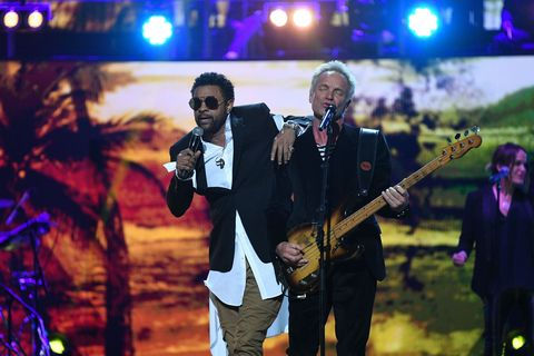 Sting and Shaggy perform at the Royal Albert Hall