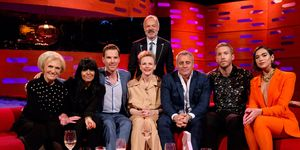 Mary Berry, Benedict Cumberbatch, Matt Le Blanc, Calvin Harris, Graham Norton, Claudia Winkleman, The Graham Norton Show