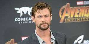Chris Hemsworth arrives for the Premiere Of Disney And Marvel's 'Avengers: Infinity War'